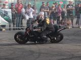 Matthew Lucky Clarke motorbike stunt